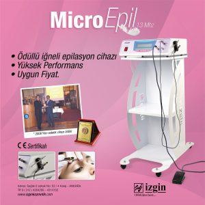 Dünyanın En İyi İğneli Epilasyon Cihazı Micro Epil 13Mhz, 0 Türk Mühendisliği, Üretici Firma Garantisi İle En Fiyata Satın Alabilirsiniz.