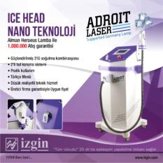 Adroit buz başlıklı lazer epilasyon